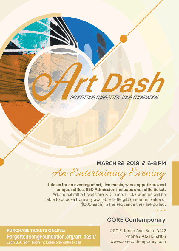 2019 Art Dash - Forgotten Song Foundation